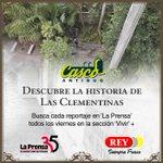 Descubre mañana la historia de Las Clementinas en la sección de Vivir+ en La Prensa, gracias a @sm_rey http://t.co/p0yDlvrY4o