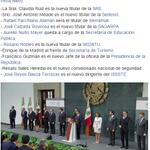 #PorSiTeLoPerdiste Así queda el #CambioDeGabinete anunciado por @EPN. http://t.co/9P713nEGI3