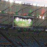 Fim do 1º tempo no Maracanã. Fluminense 0X1 Vitória. Golaço de Gabriel. Decisão do Campeonato Brasileiro SUB-20! http://t.co/3goRaGRdbF