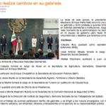 Nota de @SeInformativa con cambios que realizó @EPN en su equipo de gobierno #CambiodeGabinete http://t.co/LzVjFyHl3m http://t.co/HlvXAAIWmE