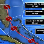 #FCNStorm Here is the lastest from NHC. Thus the concern if Erika is not ripped up by mountains of DR and Haiti http://t.co/AOcNxdUwZg