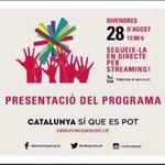 Demà 12h a la @sedeta_cat BCN presentació PROGRAMA @catsiqueespot #27S #Rubicity http://t.co/590hZWBIE5