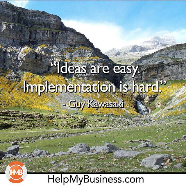Implementation!  #guykawasaki #helpmybusiness #andrewlock #marketing #marketingonline #vid… http://t.co/q0jMjP3fZP http://t.co/KSnKFjehkn
