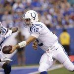 """Frank Gore says Andrew Luck is a """"football god"""" http://t.co/HNkJhXO9mX http://t.co/NGc2Az9NVV"""