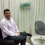 Nos estúdios da TCM, concedo entrevista para o programa @CenaPoliticoTCM . http://t.co/3CvPlMj6Iq