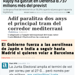 Indecís encara? —#CorredorMediterrani, Aeroport BCN=Boicot —Militars=Diners+Vots ➧PP+PSOE+Cs=Contents ➧CSQP+UDC=Muts http://t.co/lO18yHifWF