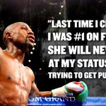 Floyd Mayweather fires right back at Ronda Rousey. (via @TMZ) http://t.co/O3PTEReelE