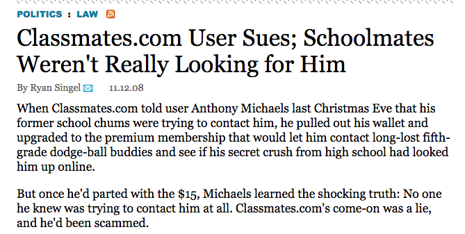 Ashley Madison fake women profiles reminds me of classic lawsuit vs. http://t.co/rEvOBmkcJl http://t.co/7pG9d6932t http://t.co/gpj6jcyQeq