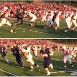 "VIDEO: HS defender scores TD off deflected ""butt-punt"" http://t.co/9IBEVqzgeq http://t.co/HKvtpT5fXy"