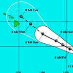 UPDATE: Ignacio continues on path to pass close to Hawaii as hurricane http://t.co/tyrQ32drfq #HIwx http://t.co/YifJIoO8fF
