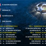 Group F: match by match. #UCLdraw http://t.co/mtJC8iNv1V