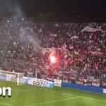 #Sudamericana | Sin importar el resultado, así despidió la hinchada tricolor a su equipo. ►http://t.co/xSHTY7brJx◄ http://t.co/Z69D1ZpBYw