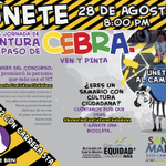 ¡Vamos todos a pintar la cebra!Usa el HT #SamariosConCulturaCiudadana desde hoy hasta mañana y ¡gánate una bicicleta! http://t.co/Qk2yNIhwkn