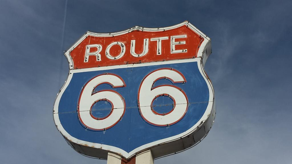 Crossing over Route 66, staying in Moriarty tonight. Our make-your-own-adventure in New Mexico is going well so far.