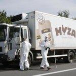オーストリアの高速道路で放置された保冷トラックの中から移民の遺体が見つかった。警察によると、遺体の数は50体に上る可能性があるという http://t.co/TWLudtHobI http://t.co/8ym7cg9FUA
