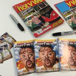 RT 4 ur chance to WIN a signed #GabrielIglesias DVD, baseball card & VW Magazine. #FluffyCollection http://t.co/6y3a1pubEU