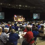 Great turnout in Monroe tonight for The Happening! Getting to hear from @LATechSHoltz & @CoachKonkol. #WeAreLATech http://t.co/58uOuNmY21