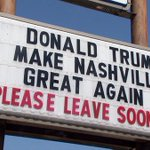 Donald Trump gets unwelcoming message from Nashville immigration lawyer prior to visit: http://t.co/FnP8yDPoUy http://t.co/tzWjgsfNoT