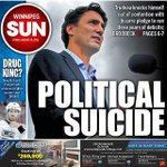 Tomorrows front page: Did Trudeau just lose the election? http://t.co/gwBohPXbxa