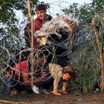 スライドショー:#欧州 に押し寄せる移民の波 http://t.co/CjuK4VwR50 ──写真はセルビア国境に設置された移民流入を阻止するためのフェンスを破ってハンガリーに入国する移民たち #移民問題 http://t.co/mDxLnf1eQ3