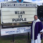 Cmon #Auspol #WearItPurple stand against #Homophobia https://t.co/G5txLf2wft http://t.co/thaCVDqzjl
