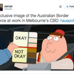 Everyone's very angry about the idea of Border Force patrolling Melbourne streets http://t.co/tFUEM8hBCl http://t.co/PlWAUnyMhs