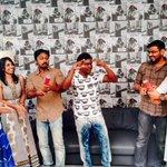 RT @StudioFlicks: #Yatchan team celebrating #Yuvan birthday   @thisisysr @Dhananjayang @DoneChannel1