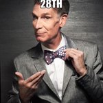 Bill Nye is coming to Alabama! Time to break into my Happy Dance... Of Science http://t.co/hzKQl0cOjB