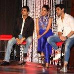 RT @KaranWahiFans: Photo: @karan009wahi With @SethShruti & @iampritampyaare at the press conference of  #ComedyNightsBachao