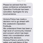 Operation Fortitude has been cancelled altogether #BorderForce http://t.co/Gq7OAa3Hsv