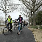 New Matai Street #cycleway (part of the Uni-Cycle route) opens to public http://t.co/YhFMpovQ3A http://t.co/jOTukbV3cF
