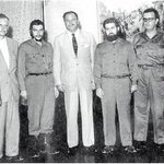 Did you know #CheGuevara visited #Pakistan in 1959? Here with #AyubKhan & our the erudite #ManzurQadir, then our FM. http://t.co/OIG2PgsytQ