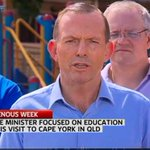 Tony Abbott Hails Noel Pearsons Impact On Cape School, Which Pearson Has Nothing To Do With http://t.co/lzvbunTTfr http://t.co/PTqgqyDkIo