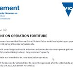 """Vic Govt hits out at @AusBorderForce for """"unfortunate and inappropriate"""" portrayal of #OperationFortitude #auspol http://t.co/LbsahwDdnW"""