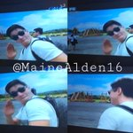 Kahit nasa BICOL may pabebe wave padin, @aldenrichards02 @mainedcm #ALDUBGettingCLOSER http://t.co/o5VKGU28xn