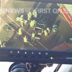 Emergency services on scene of car rollover in BRIS CBD @9NewsBrisbane #9newscomau http://t.co/yQdYK5bKLk