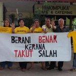 Berani kerana benar, takut kerana salah! #Bersih4 #Bersih4 #Bersih4 #Bersih4 #Bersih4 #Bersih4 #Bersih4 #Bersih4 http://t.co/NYzxLlZSdE