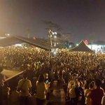 Himpunan pra #Bersih4 di Dataran Penggaram Batu Pahat, Johor kelmarin. Boleh tahan! #Bersih4 #Bersih4 #Bersih4 http://t.co/TaotjOL77r