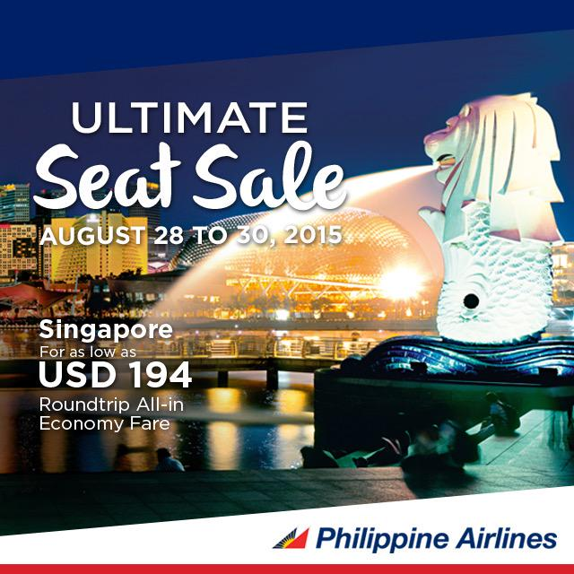 Fly to Singapore for as low as USD194 with our Ultimate Seat Sale! Click here for more info: