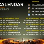 Groups E-H: match by match. #UELdraw http://t.co/SBRnDCh7hX