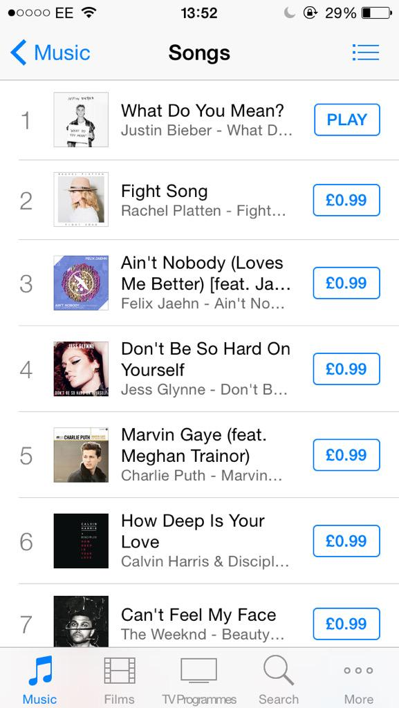 #1 ON ITUNES UK!