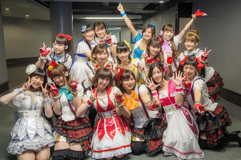 Animelo Summer Live 2015-THE GATE-初日、μ'sはアイドルマスターさんとコラボをさせていただきました! ありがとうございました!!! #lovelive #anisama http://t.co/ri6APuKy2a