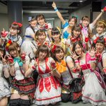 Animelo Summer Live 2015-THE GATE-初日、μsはアイドルマスターさんとコラボをさせていただきました! ありがとうございました!!! #lovelive #anisama http://t.co/ri6APuKy2a