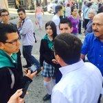 Estudiantes de la IE San Agustín se interesan por nuestra propuestas de desarrollo hacia el Macroproyecto San José http://t.co/wzgsLqjpMB