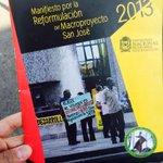El trabajo en San José viene de tiempo atrás, construimos con la comunidad el manifiesto por la reformulación http://t.co/PkwSRWodxP