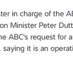 Dutton on #OperationFortitude Bettcha someone else will in charge of next weeks national security announceable http://t.co/Y7gFwqJKP2