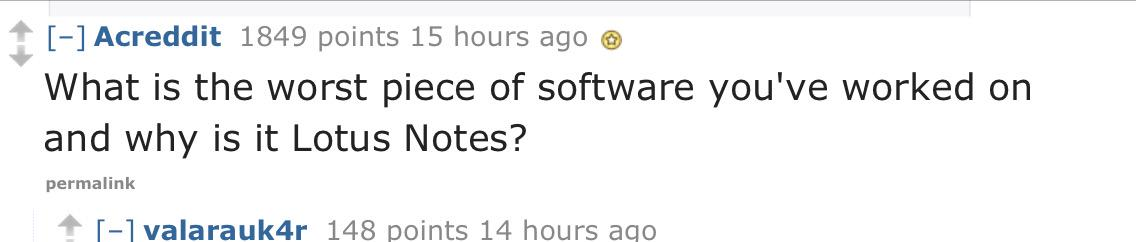 Opening question of a Reddit AMA with some IBM developers https://t.co/OVaNBiRDnN http://t.co/nypYHP4MlH