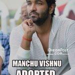 RT @iDreamPost: @iVishnuManchu Adopted 10 Villages.  #Respect!  Source : @HeroManoj1