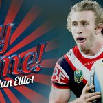 9 TRY! Brendan Elliot gets a nice ball from Guerra to go over in the corner. Roosters lead 4-0 KTC #NRLManlyRoosters http://t.co/X3ZHqGtFeu