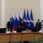 Губернатор @morozov_si подписывает соглашения с руковод.МЧС и Ространснадзора РФ о реформировании контроля. http://t.co/t8clLz7zGJ